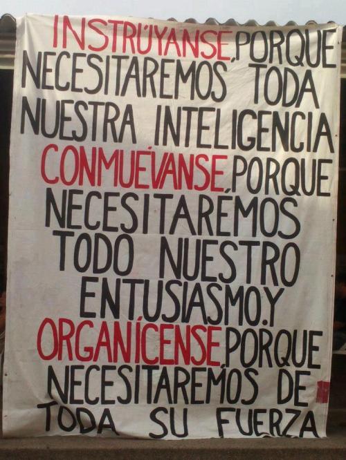 instruyanse_conmuévanse_organícense